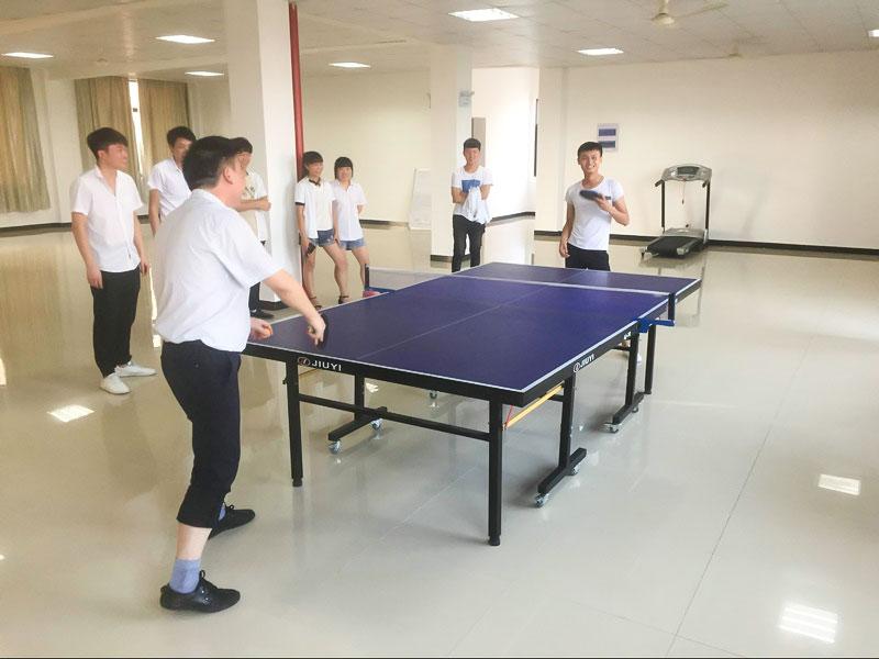 """""""三洋杯""""趣味运动会 乒乓球比赛 男子单打"""